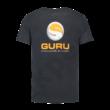 GURU BRUSH LOGO TEE HEATHER CHARCOAL (GCL055)