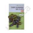 KORUM CAMO RUNNING RIG CLIPS (K0310025/26)