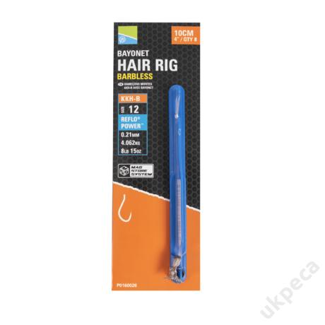 PRESTON KKH-B BAYONET HAIR RIGS - 4
