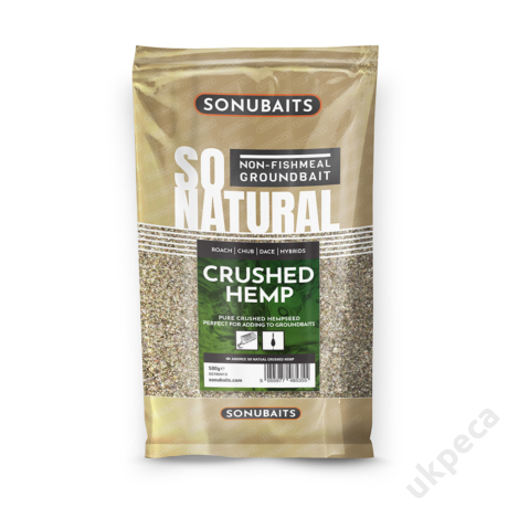 SONU SO NATURAL - CRUSHED HEMP (500G)
