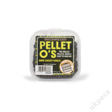 SONU PELLET O'S - CHEESY GARLIC 8MM