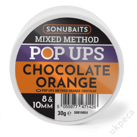 SONU MIXED METHOD POP UPS CHOCOLATE ORANGE 8 &10MM