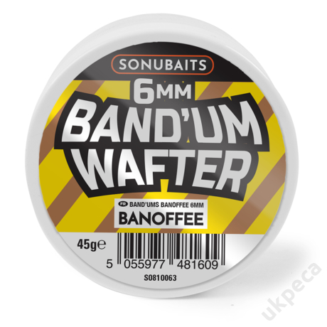 SONU BAND'UM WAFTERS - BANOFFEE 6MM