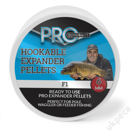 SONU HOOKABLE EXPANDER PELLETS - F1 6MM