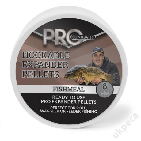 SONU HOOKABLE EXPANDER PELLETS - FISHMEAL 8MM
