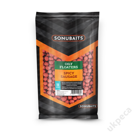 SONU OILY FLOATERS SPICY SAUSAGE - 11MM